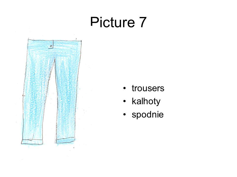 Picture 7 trousers kalhoty spodnie