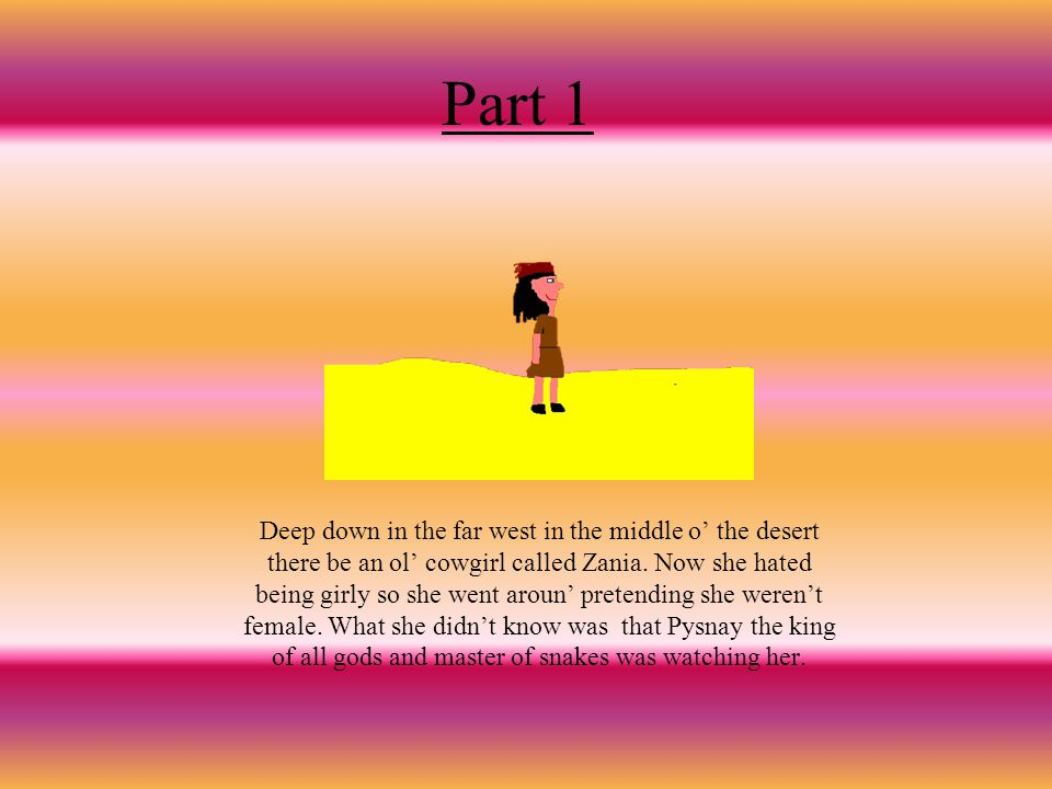 Zanias story The story of how she died and became a goddess.