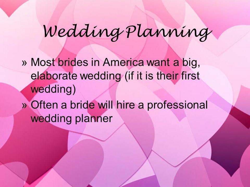 Weddings Cost… »… a lot!