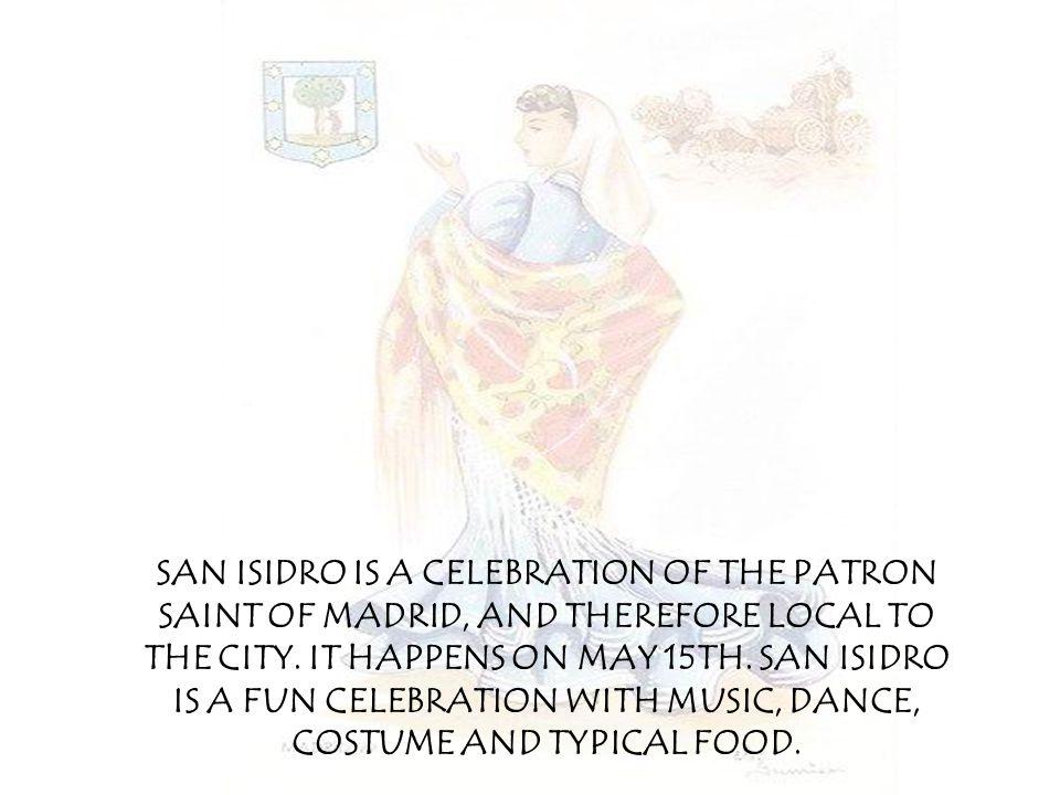 THE CELEBRATION WE ANNOUNCE SAN ISIDRO