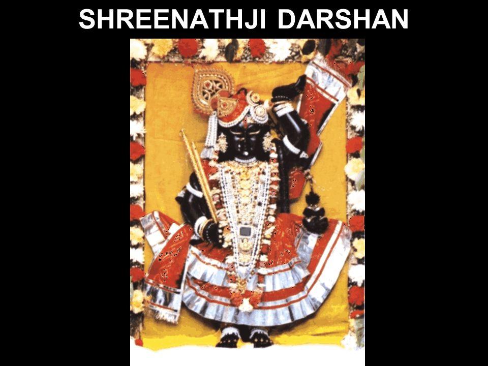 Shri Nathji s Shrine: Shri Nathji stands here to greet his visitors