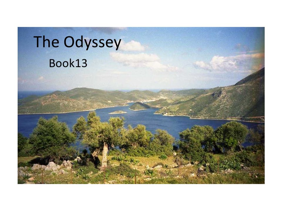 The Odyssey Book13