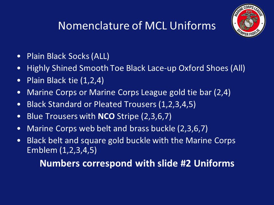 No devices, pins, badges or patches of any kind are to be worn with the Casual uniform.