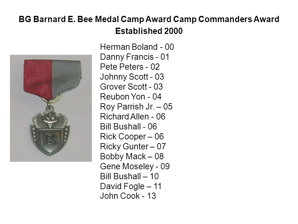 BG Barnard E.