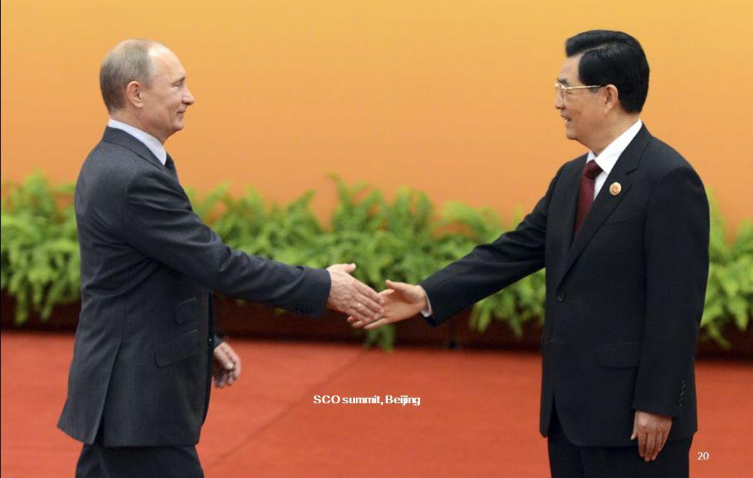 SCO summit, Beijing. 19