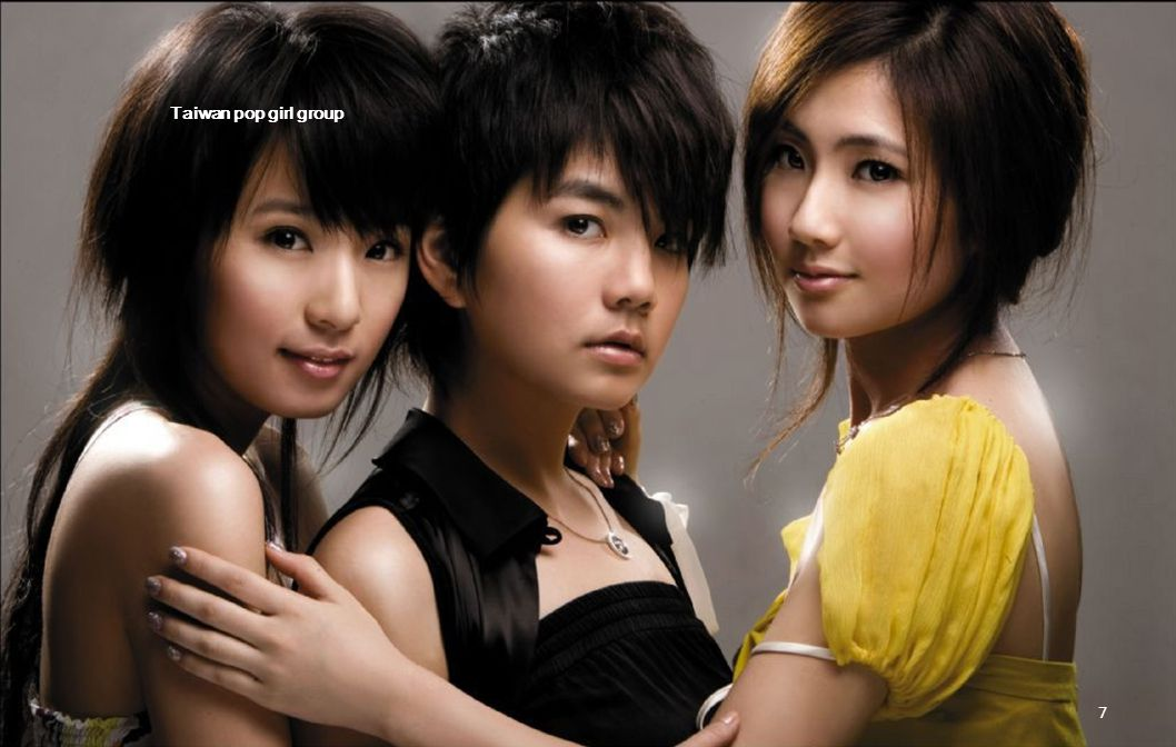 Taiwan pop girl group 6