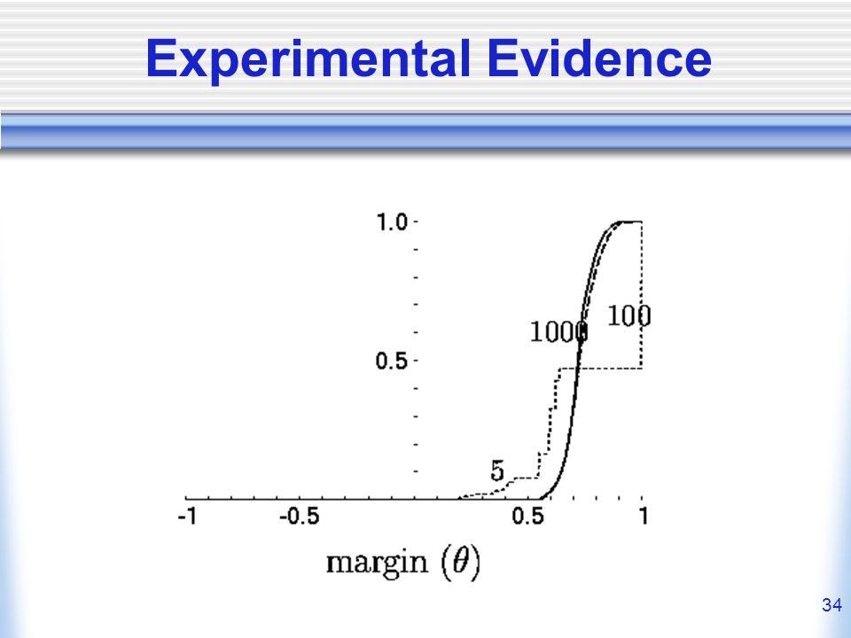34 Experimental Evidence