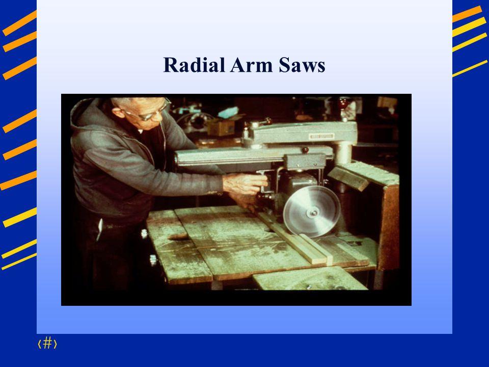 50 Radial Arm Saws