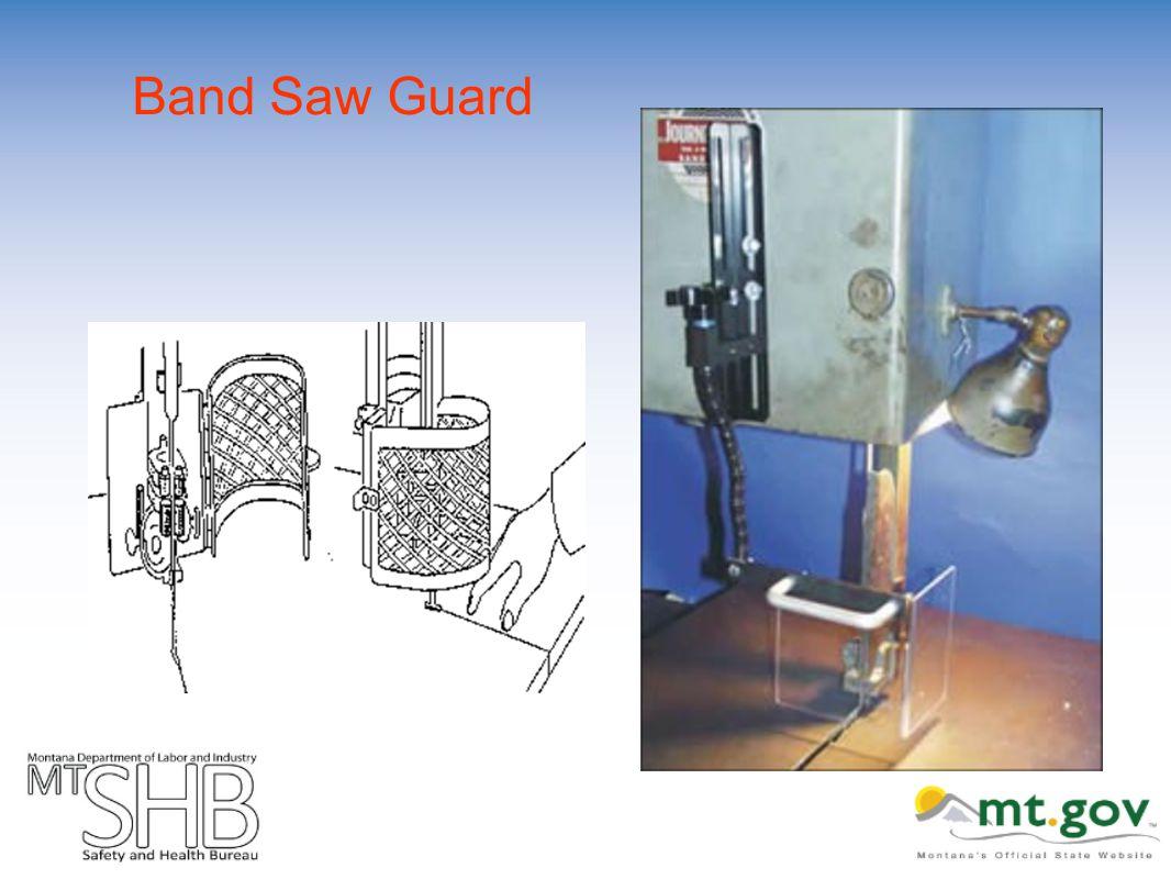 Band Saw Guard