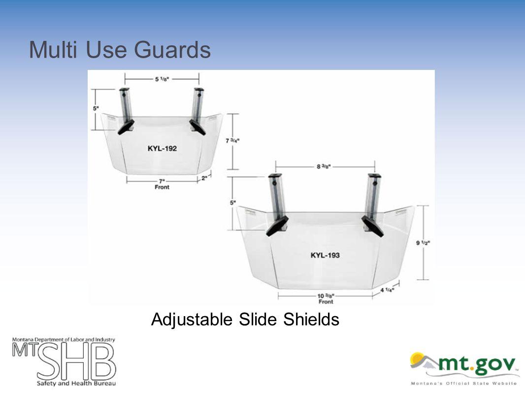 Multi Use Guards Adjustable Slide Shields