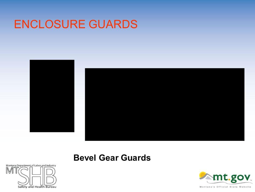 ENCLOSURE GUARDS Bevel Gear Guards