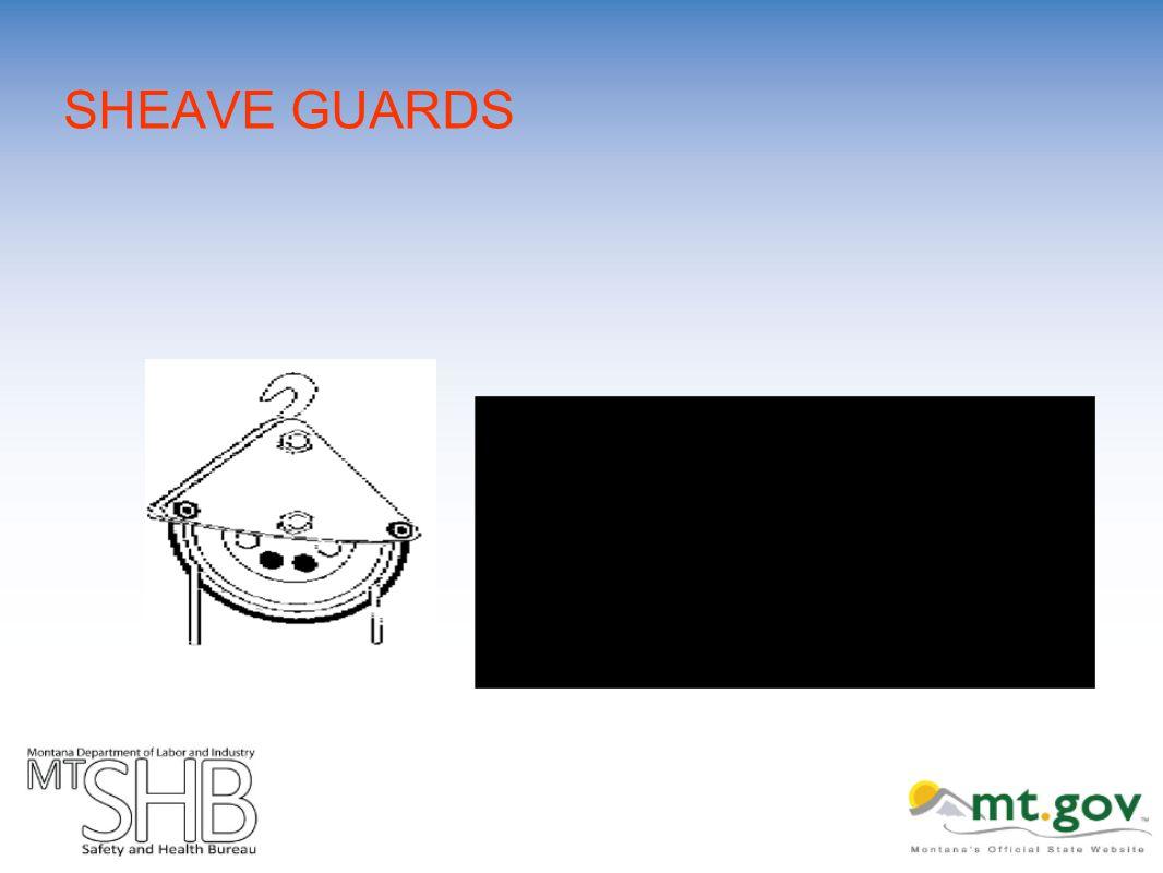 SHEAVE GUARDS