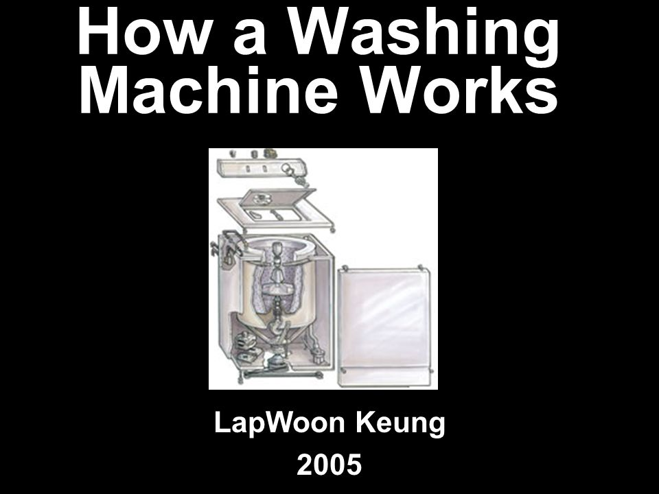 What is a Washing Machine A washing machine is an machine that washes clothes, linen Was made to help wash clothes easier