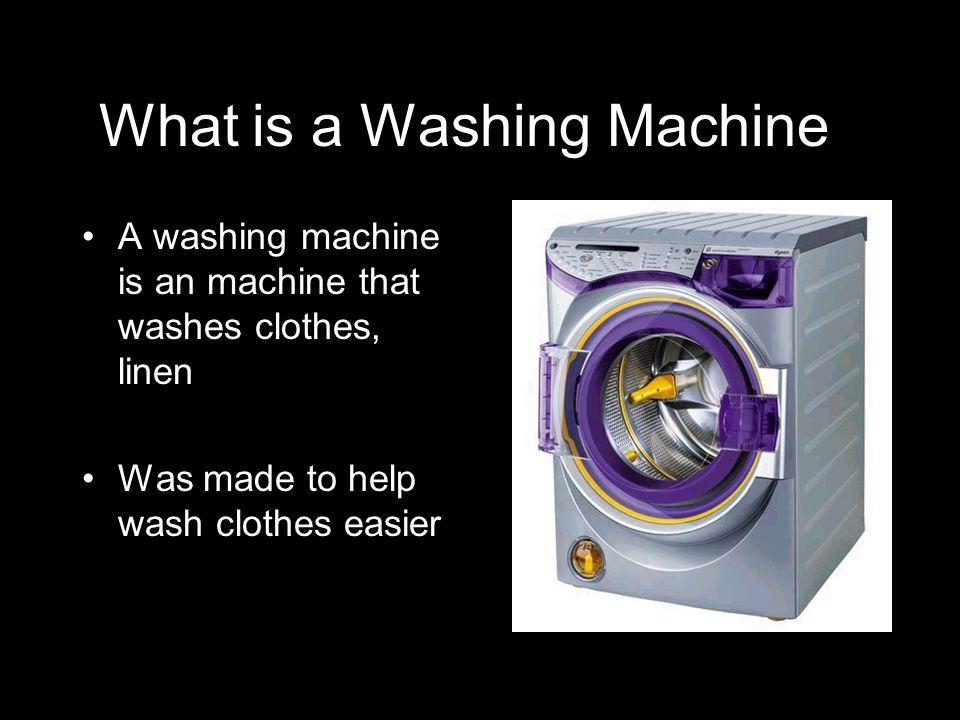 Bibliography Washing Machine.The World Book Encyclopedia.