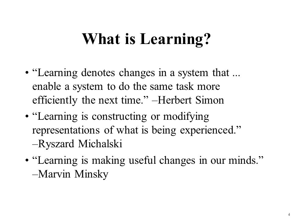 5 Why Learn.