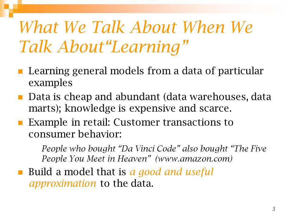 4 Data Mining/KDD Retail: Market basket analysis, Customer relationship management (CRM) Finance: Credit scoring, fraud detection Manufacturing: Optimization, troubleshooting Medicine: Medical diagnosis Telecommunications: Quality of service optimization Bioinformatics: Motifs, alignment Web mining: Search engines...