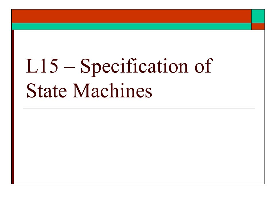 VHDL State Machines State Machine Basics VHDL for sequential elements VHDL for state machines Example – Tail light controller Example – counter Example – gray code counter Ref: text Unit 10, 17, 20 9/2/2012 – ECE 3561 Lect 9 Copyright 2012 - Joanne DeGroat, ECE, OSU2