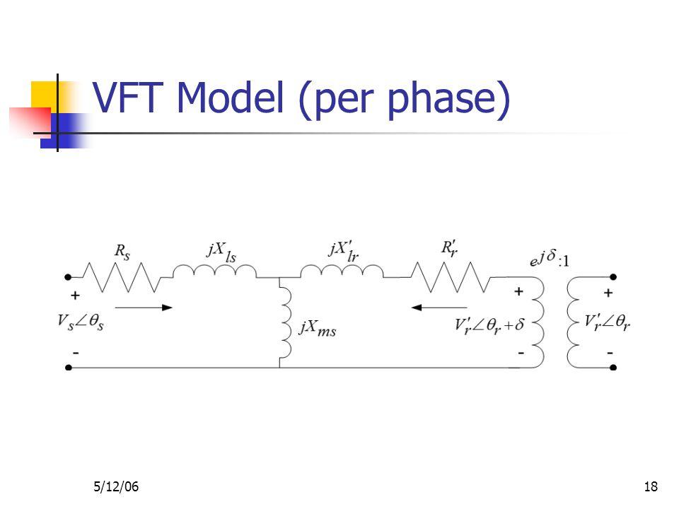 5/12/0618 VFT Model (per phase)
