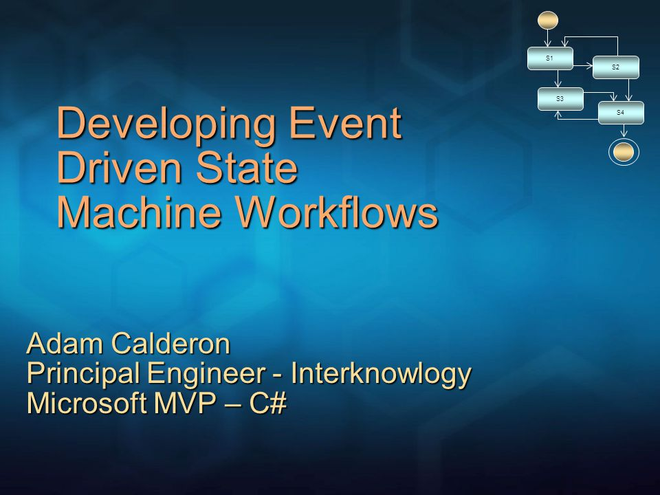 Recursive State Composition Developing Event Driven State Machine Workflows