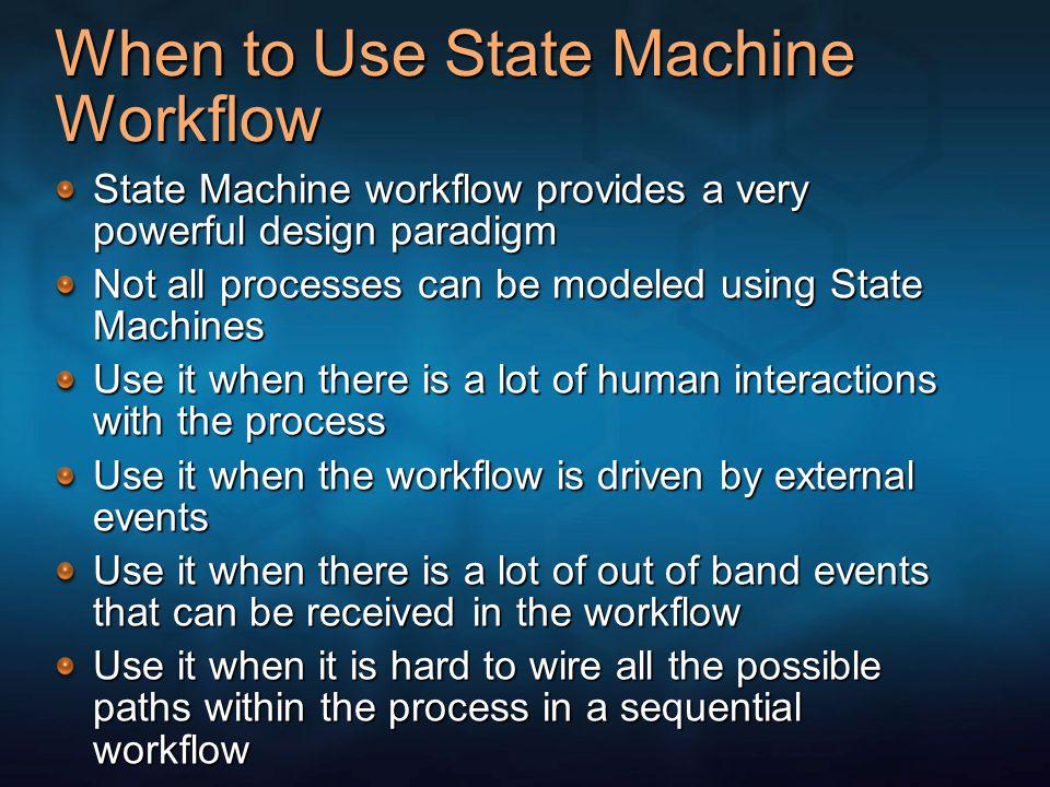 Skip and Rework Pattern Developing Event Driven State Machine Workflows