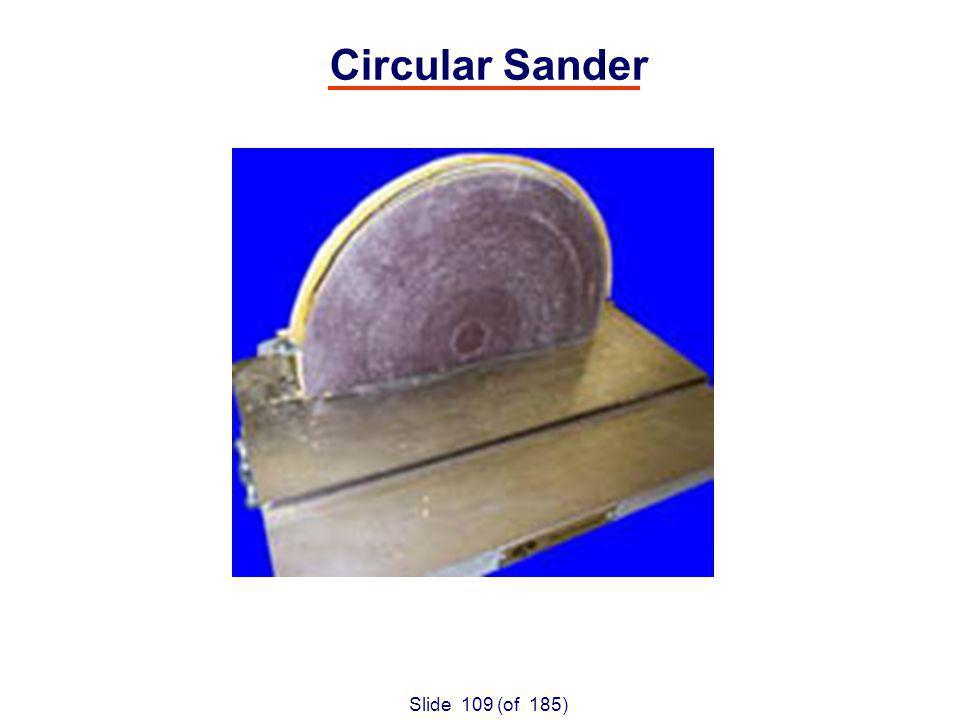 Slide 109 (of 185) Circular Sander