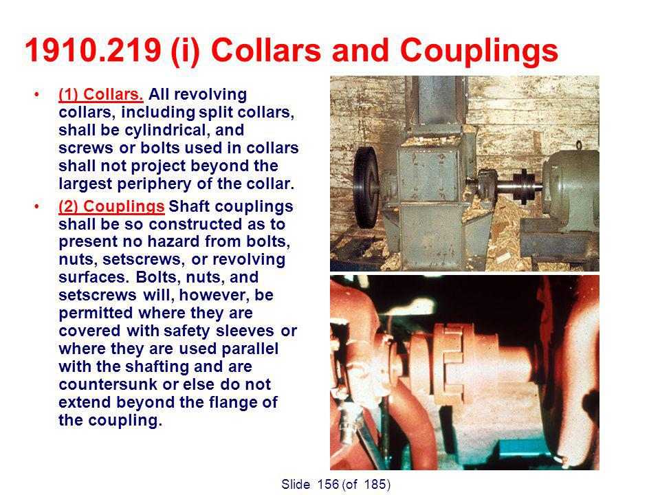 Slide 156 (of 185) (1) Collars.