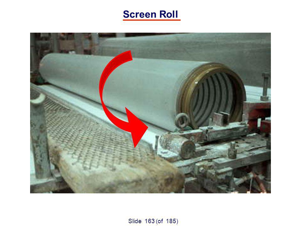Slide 163 (of 185) Screen Roll