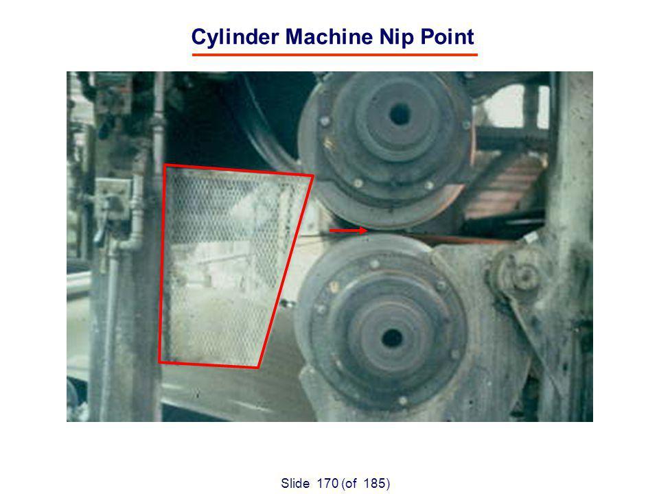 Slide 170 (of 185) Cylinder Machine Nip Point