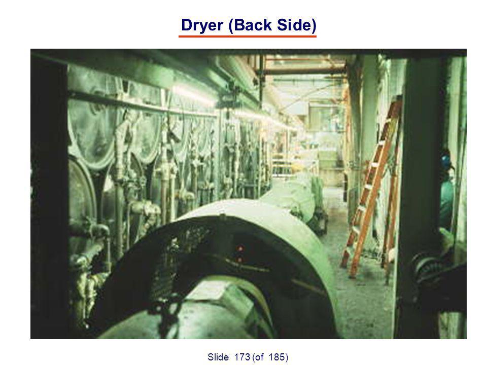 Slide 173 (of 185) Dryer (Back Side)