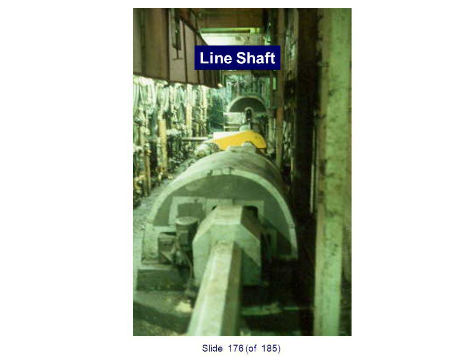Slide 176 (of 185) Line Shaft