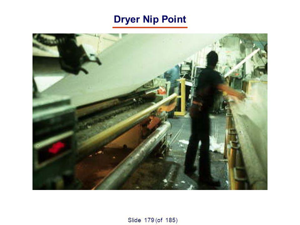 Slide 179 (of 185) Dryer Nip Point