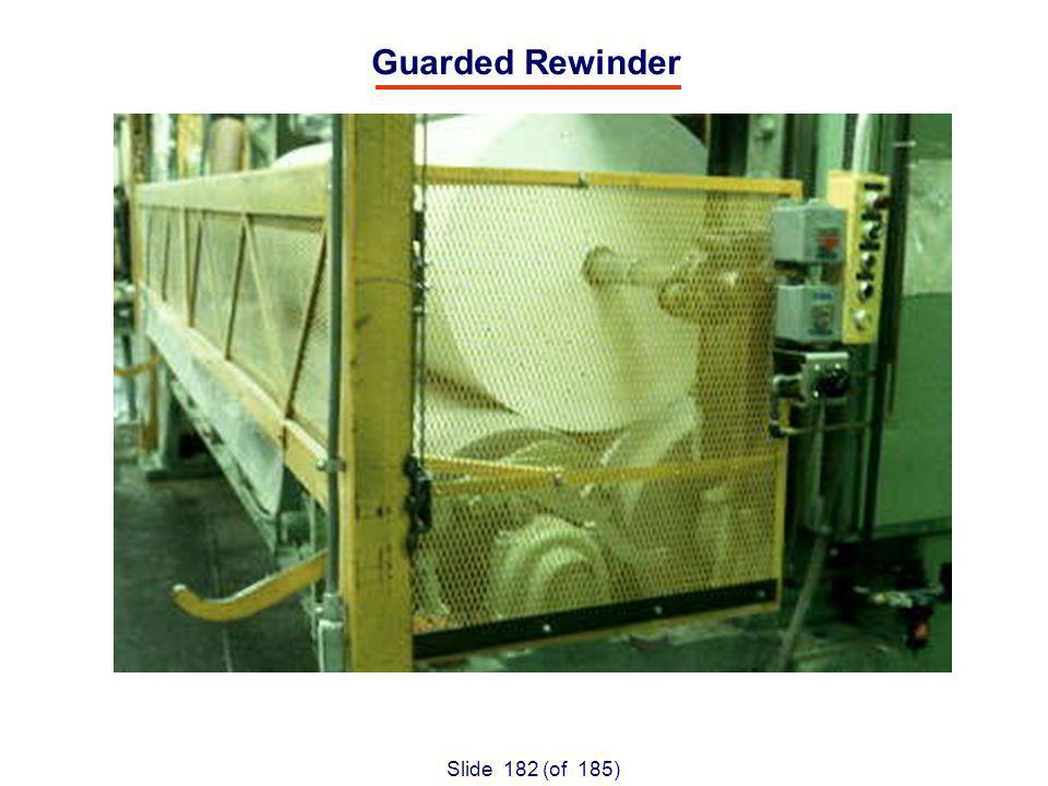 Slide 182 (of 185) Guarded Rewinder