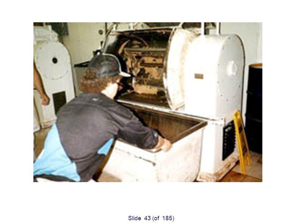 Slide 43 (of 185) Unguarded Dough Mixer