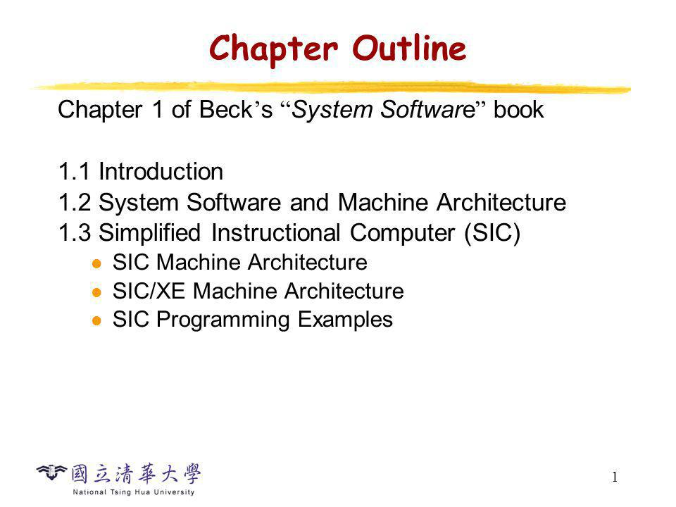 2 System Software System software consists of a variety of programs that support the operation of a computer, e.g.