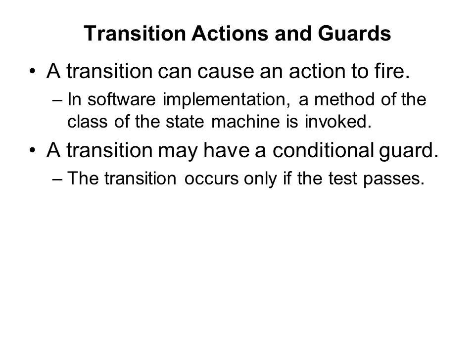 Fig. 29.2 Transition action and guard notation