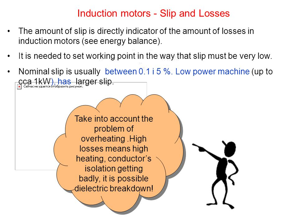 The amount of slip is directly indicator of the amount of losses in induction motors (see energy balance). It is needed to set working point in the wa