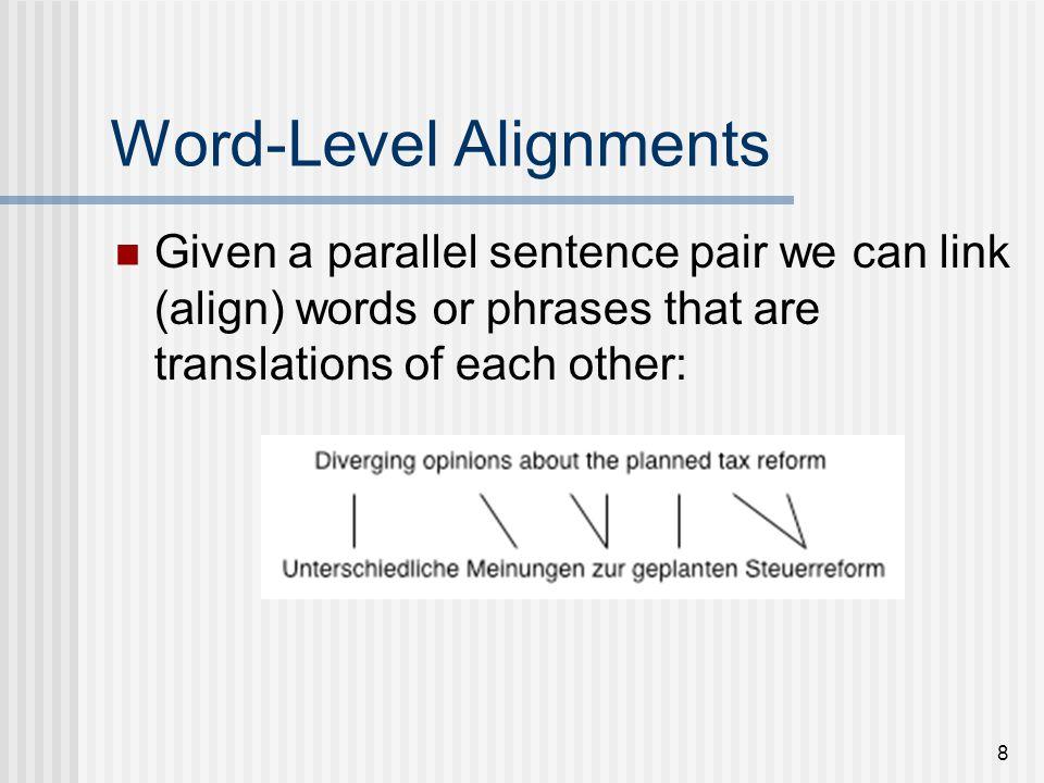19 Translation Steps