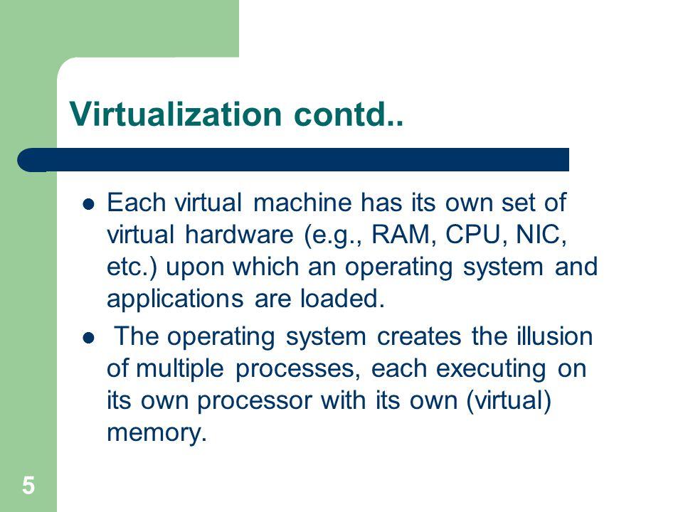 5 Virtualization contd..