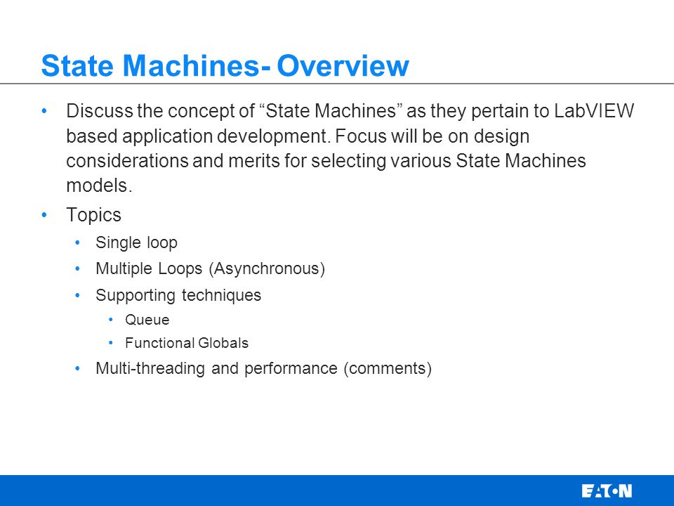 State Machines- Definition Wikipedia- Model of behavior composed of finite number of states, transitions between those states, and actions.