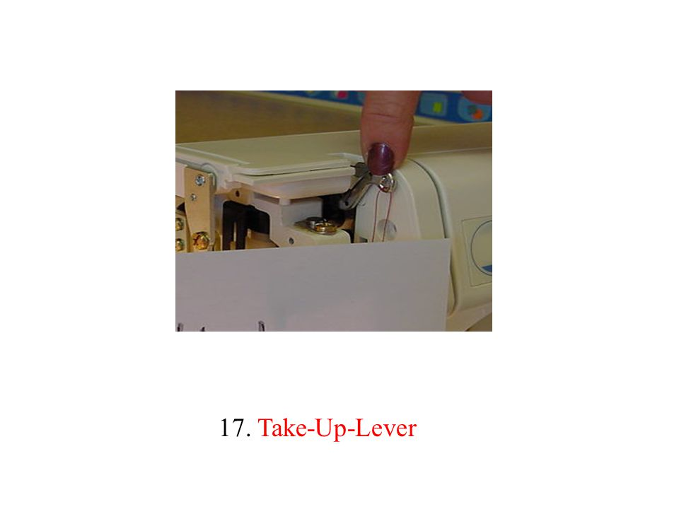 17. Take-Up-Lever