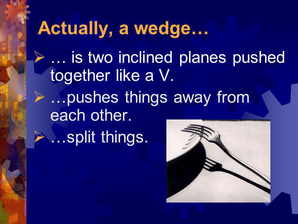 A Wedge?