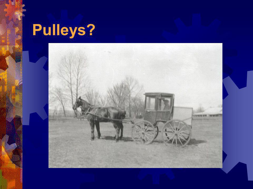 Can you think of some other wheels and axles?