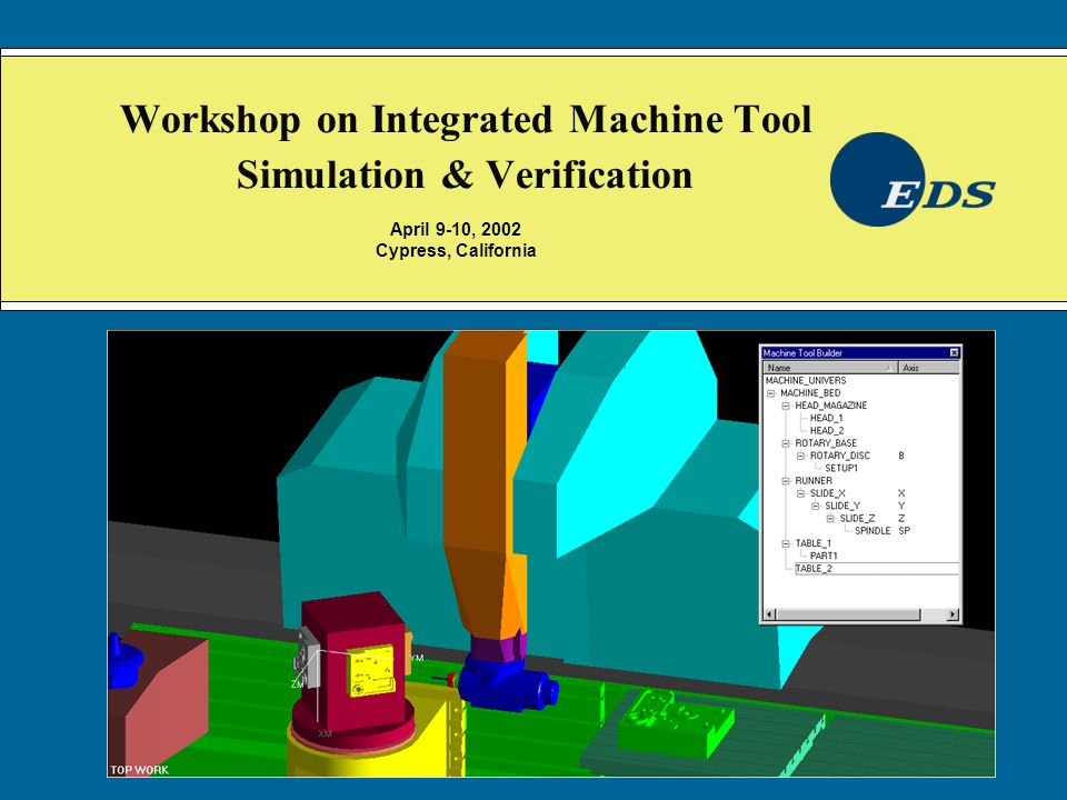 IS&V Highlights Fully integrated machine tool simulator.