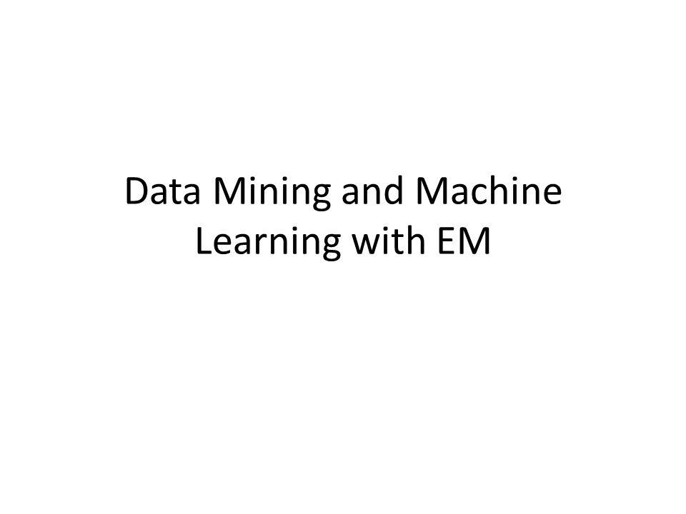 Data Mining and Machine Learning are Ubiquitous.