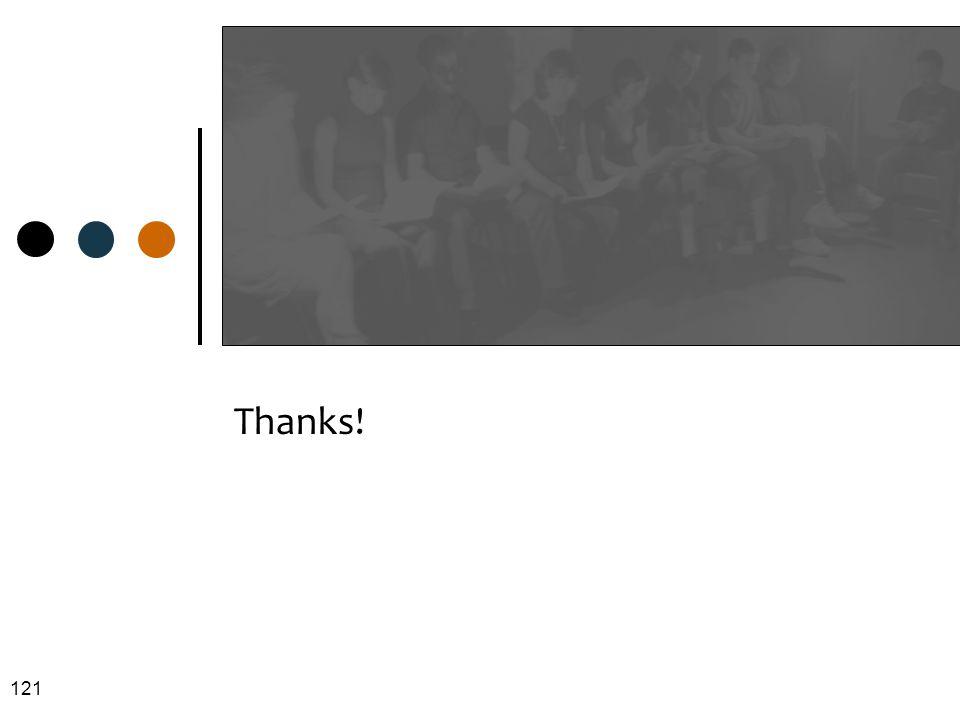 Thanks! 121