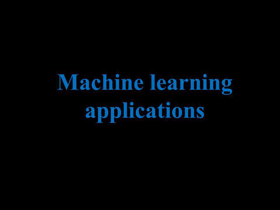 Andrew Ng Machine learning applications