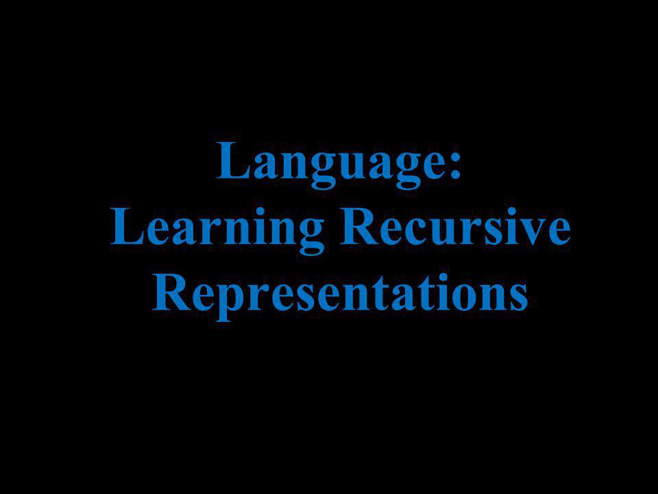 Andrew Ng Language: Learning Recursive Representations