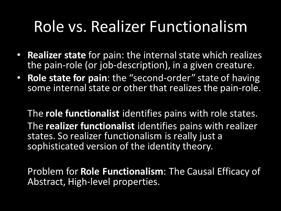 Role vs.
