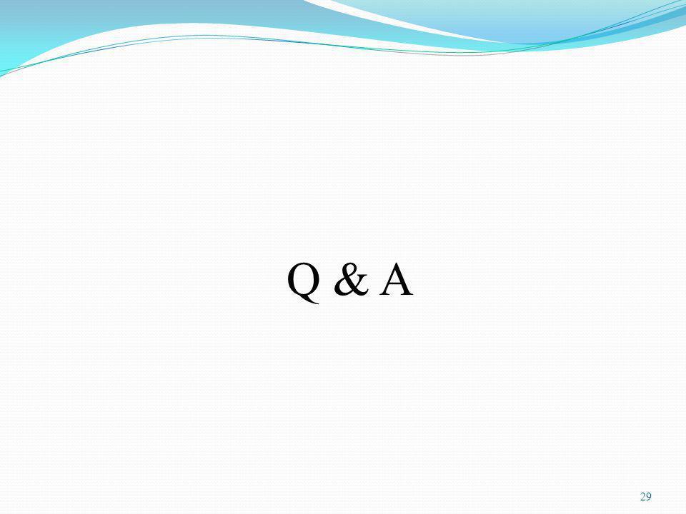 Q & A 29