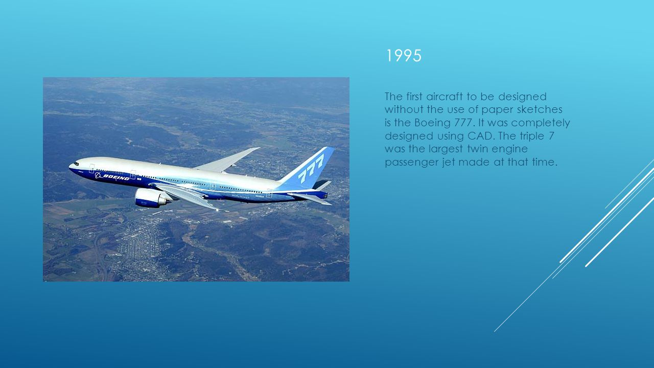 1969 BOEING 747 the first flight of a wide-body, turbofan-powered commercial airliner, the 747, one of the most successful aircraft ever produced. It
